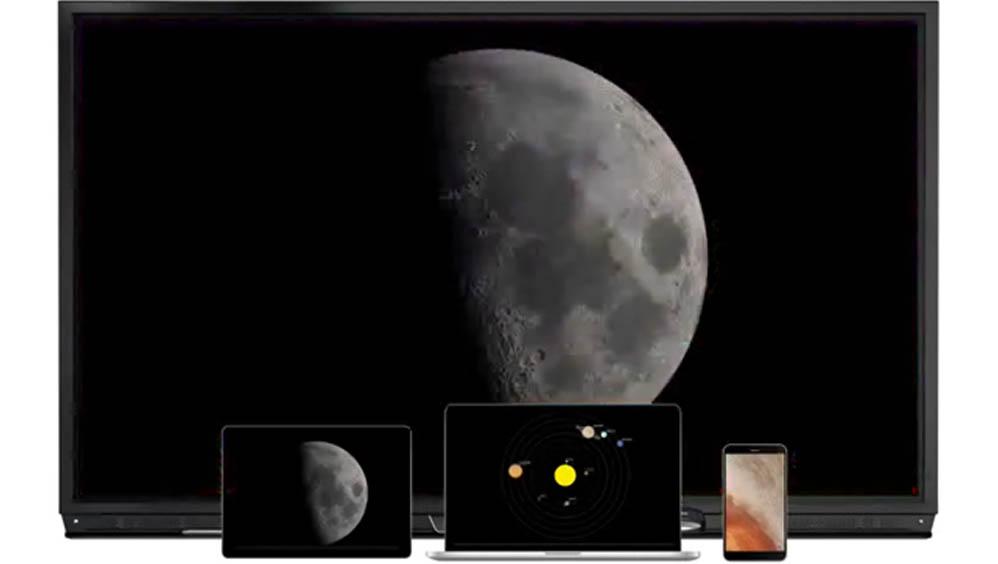 多台设备无线镜像, 互动教学无限可能