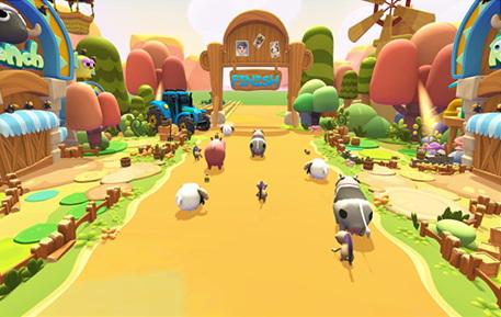 VR小羊快跑